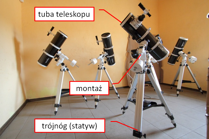 Bresser venus az teleskop reflector z sdapterem na